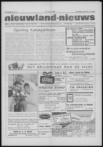 Nieuwland Nieuws 1965-03-11