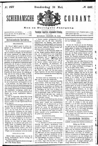 Schiedamsche Courant 1877-05-31