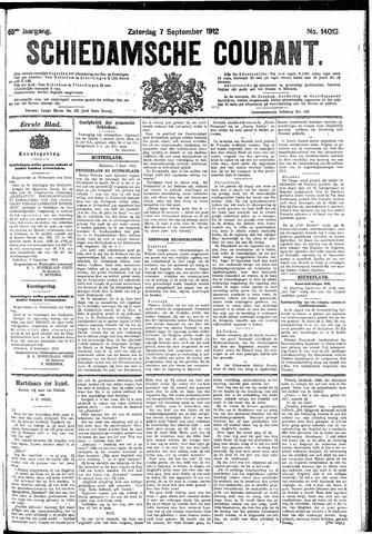 Schiedamsche Courant 1912-09-07