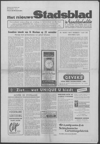 Het Nieuwe Stadsblad 1963-11-08