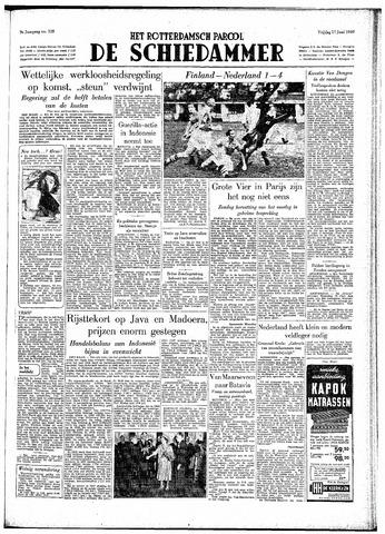 Rotterdamsch Parool / De Schiedammer 1949-06-17