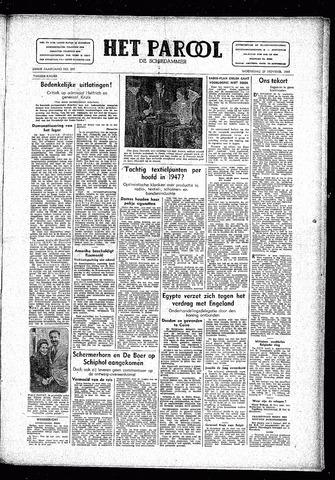 Rotterdamsch Parool / De Schiedammer 1946-11-27