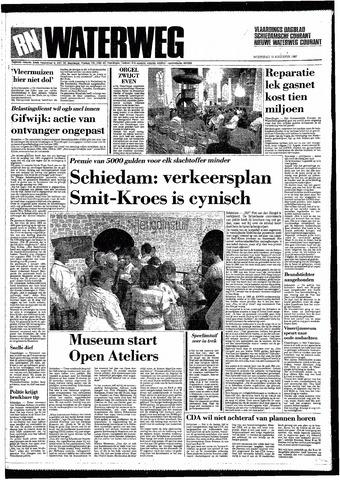 Rotterdamsch Nieuwsblad / Schiedamsche Courant / Rotterdams Dagblad / Waterweg / Algemeen Dagblad 1987-08-12