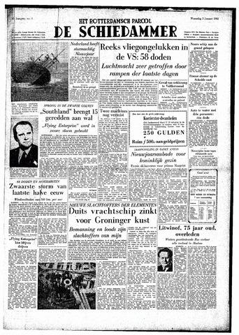 Rotterdamsch Parool / De Schiedammer 1952