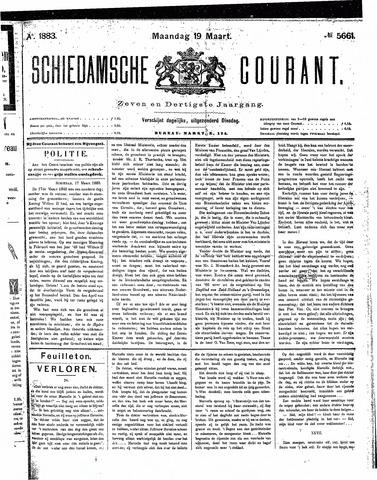Schiedamsche Courant 1883-03-19