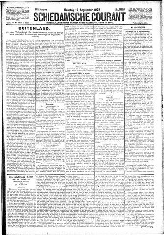 Schiedamsche Courant 1927-09-12