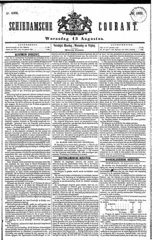 Schiedamsche Courant 1866-08-15