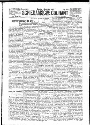 Schiedamsche Courant 1933-09-05