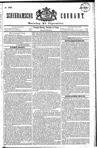Schiedamsche Courant 1866-09-24