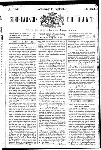 Schiedamsche Courant 1879-09-18