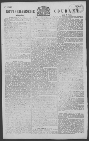 Rotterdamse Courant 1851-06-03