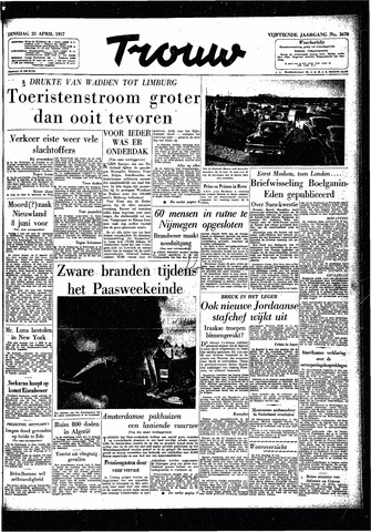 Trouw / De Rotterdammer 1957-04-23