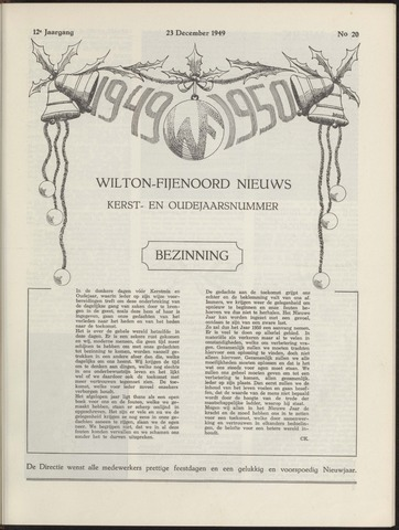 Wilton Fijenoord Nieuws 1949-12-01