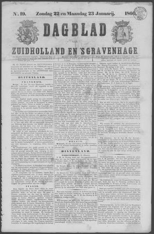 Dagblad van Zuid-Holland 1860-01-22