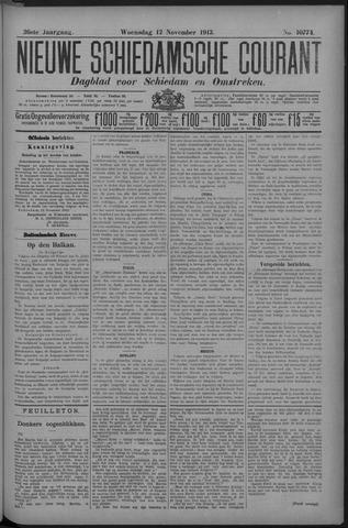Nieuwe Schiedamsche Courant 1913-11-12
