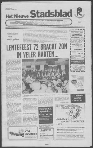 Het Nieuwe Stadsblad 1972-04-19