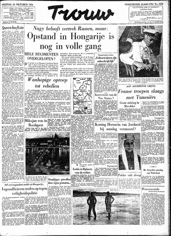 Trouw / De Rotterdammer 1956-10-26