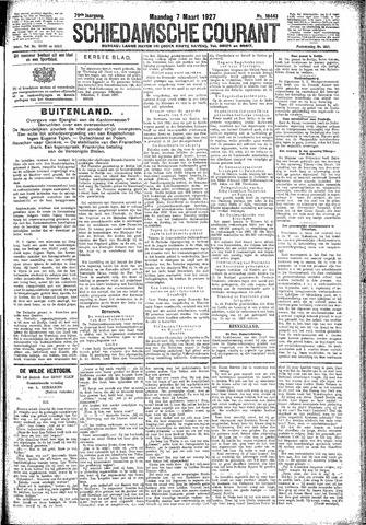 Schiedamsche Courant 1927-03-07