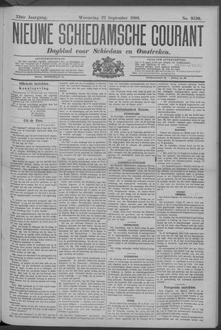 Nieuwe Schiedamsche Courant 1909-09-22