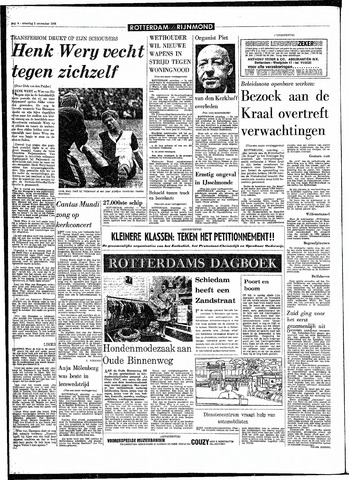 Rotterdamsch Parool / De Schiedammer 1968-11-02