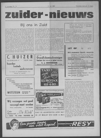 Zuider Nieuws 1963-07-11