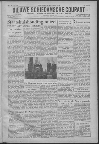 Nieuwe Schiedamsche Courant 1946-09-18