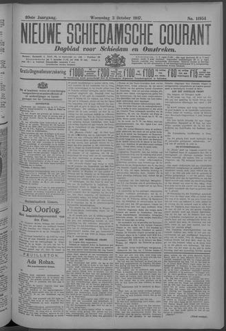 Nieuwe Schiedamsche Courant 1917-10-03