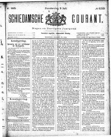 Schiedamsche Courant 1885-07-09