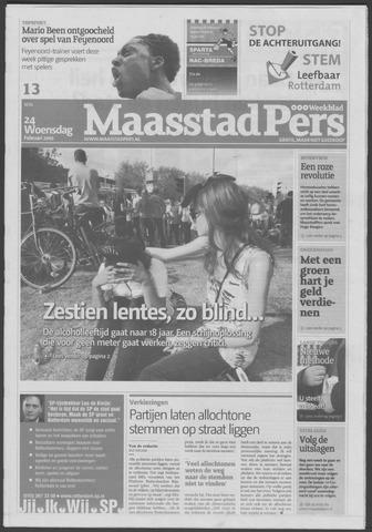 Maaspost / Maasstad / Maasstad Pers 2010-02-24