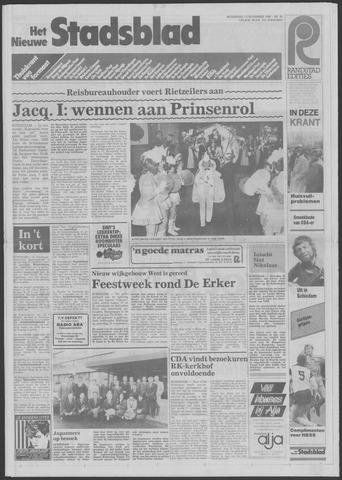Het Nieuwe Stadsblad 1985-11-13
