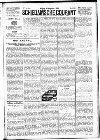 Schiedamsche Courant 1927-08-12