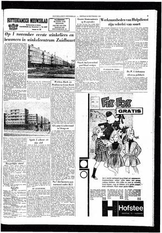 Rotterdamsch Nieuwsblad / Schiedamsche Courant / Rotterdams Dagblad / Waterweg / Algemeen Dagblad 1964-09-08