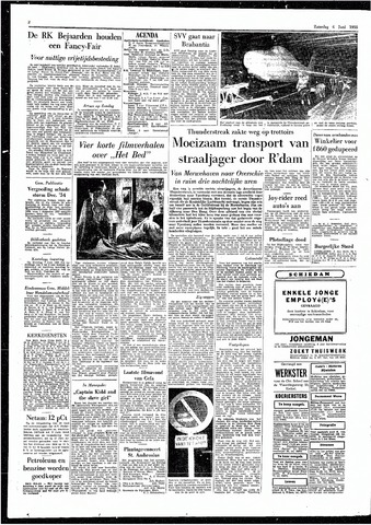Rotterdamsch Parool / De Schiedammer 1955-06-04