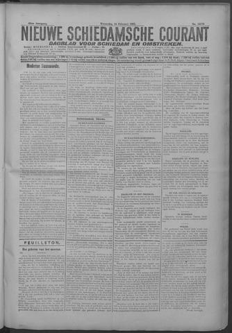 Nieuwe Schiedamsche Courant 1925-02-18