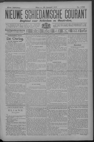 Nieuwe Schiedamsche Courant 1917-01-30