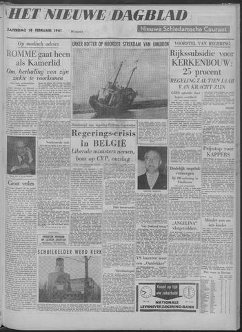 Nieuwe Schiedamsche Courant 1961-02-18