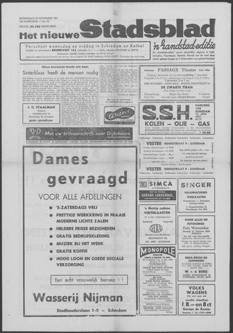 Het Nieuwe Stadsblad 1961-11-29