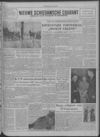Nieuwe Schiedamsche Courant 1958-01-27