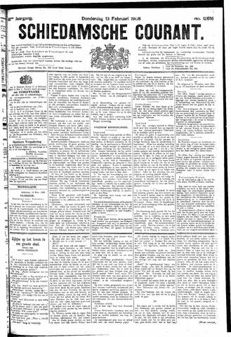 Schiedamsche Courant 1908-02-13