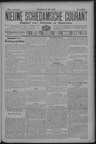Nieuwe Schiedamsche Courant 1913-05-19