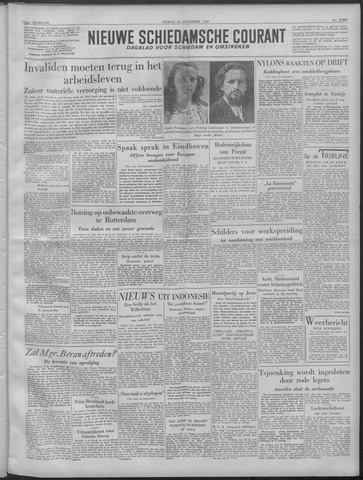 Nieuwe Schiedamsche Courant 1949-11-18