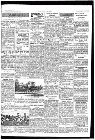 Rotterdamsch Nieuwsblad / Schiedamsche Courant / Rotterdams Dagblad / Waterweg / Algemeen Dagblad 1953-08-17