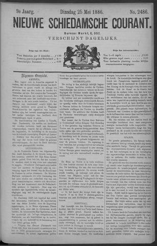 Nieuwe Schiedamsche Courant 1886-05-25