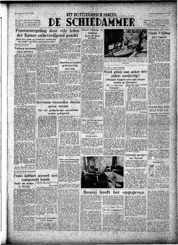 Rotterdamsch Parool / De Schiedammer 1948-06-09