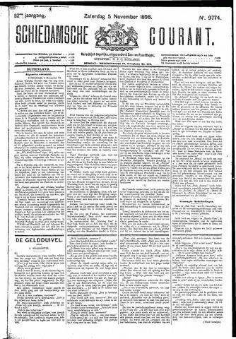 Schiedamsche Courant 1898-11-05