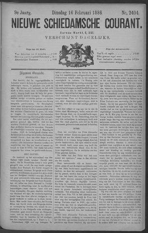 Nieuwe Schiedamsche Courant 1886-02-16