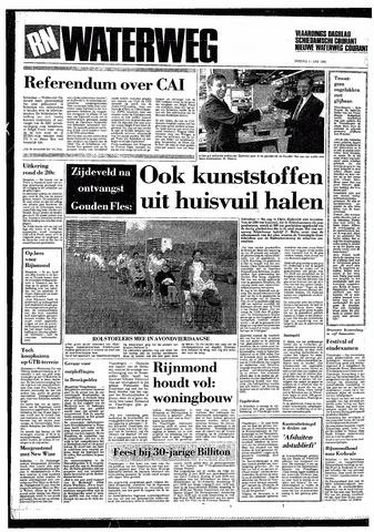 Rotterdamsch Nieuwsblad / Schiedamsche Courant / Rotterdams Dagblad / Waterweg / Algemeen Dagblad 1985-06-11