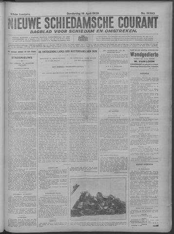 Nieuwe Schiedamsche Courant 1929-04-18