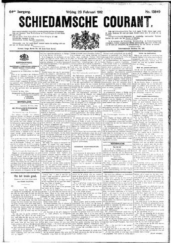 Schiedamsche Courant 1912-02-23