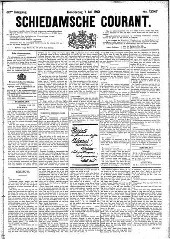 Schiedamsche Courant 1910-07-07
